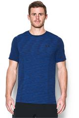 Under Armour Azul / Negro de Hombre modelo UA THREADBORNE KNIT SS Deportivo Polos