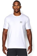 Under Armour Blanco / Gris de Hombre modelo CC LEFT CHEST LOCKUP Deportivo Polos