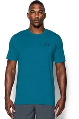 Under Armour Azul Petróleo de Hombre modelo CC LEFT CHEST LOCKUP Deportivo Polos