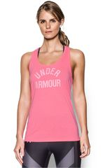 Under Armour Rosado de Mujer modelo THREADBORNE TRAIN WM TANK TW Deportivo Bividis