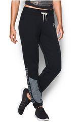 Under Armour Negro /Gris de Mujer modelo FAVORITE FLEECE PANT Deportivo Pantalones