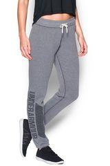 Under Armour Gris / Plomo de Mujer modelo FAVORITE FLEECE PANT Pantalones Deportivo