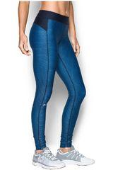 Under Armour Azul / Acero de Mujer modelo UA HG ARMOUR PRINTED LEGGING Leggins Deportivo