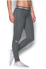 Under Armour Gris / Plateado de Mujer modelo FAVORITE LEGGING - SOLID Leggins Deportivo