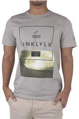 Polo de Hombre Dunkelvolk Gris FREE