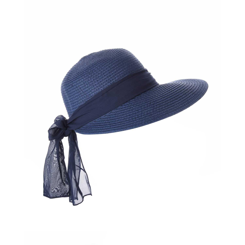 Sombrero de Mujer Platanitos Azul t48-18-a