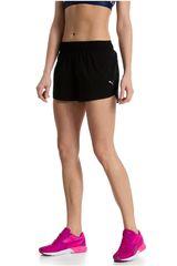 Puma Negro /Gris de Mujer modelo CORE-RUN 3 SHORTS W Deportivo Shorts