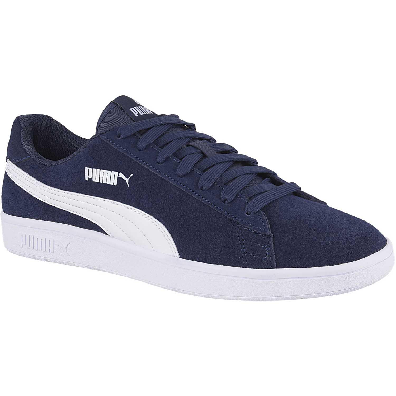 Zapatilla de Hombre Puma Azul / blanco smash v2