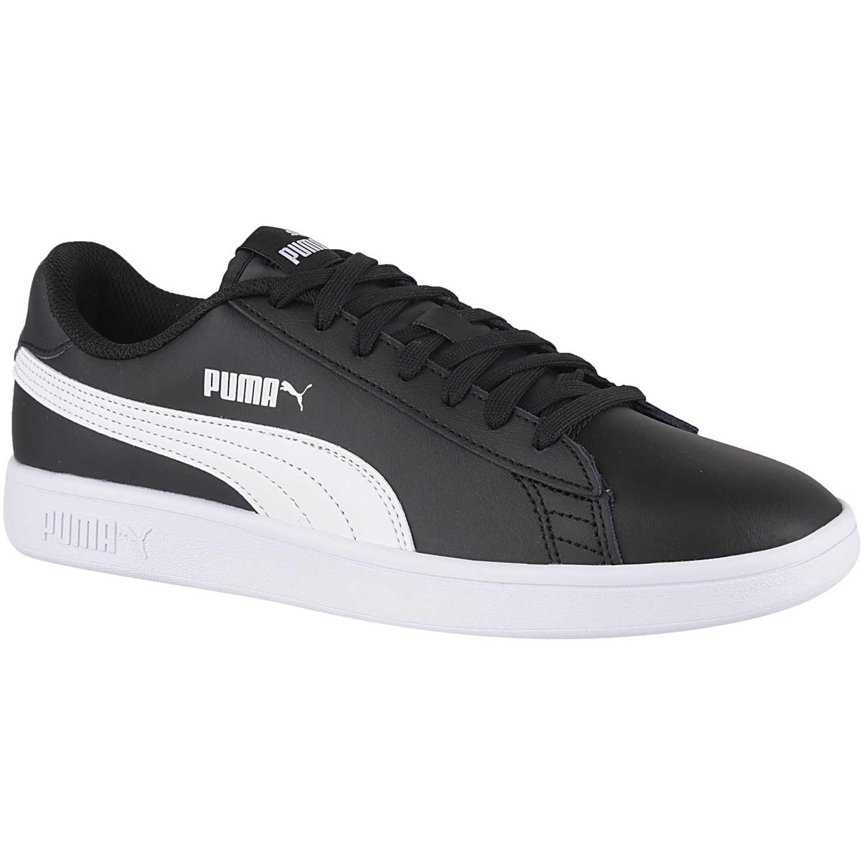 Zapatilla de Hombre Puma Negro / blanco smash v2 l