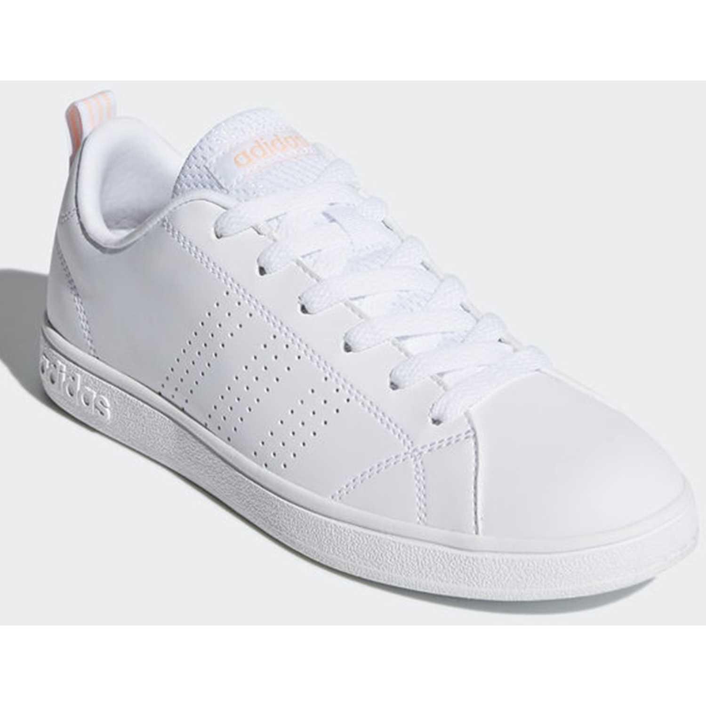 cheap for discount ab9ea 796ff Zapatilla de Mujer adidas NEO Blanco  rosado vs advantage cl