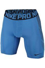 Nike Azulino de Hombre modelo HYPERCOOL 6' SHORT Deportivo Shorts
