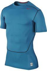 Nike Azulino de Hombre modelo HYPERCOOL COMP SS 3.0 Deportivo Polos