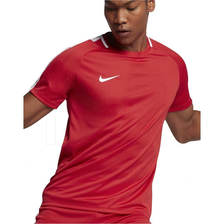 Polo de Hombre Nike Rojo m nk dry acdmy top ss