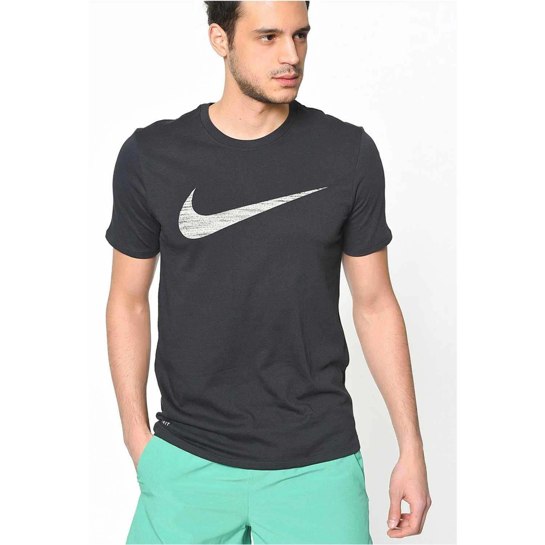2d5f5dd15 Polo de Hombre Nike negro m nk dry tee df swoosh htr | platanitos.com