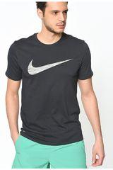 Polo de Hombre Nike Negro M NK DRY TEE DF SWOOSH HTR