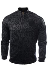 Nike Gris Oscuro de Hombre modelo NK FC N98 AOP GX TRK JKT Casacas Deportivo