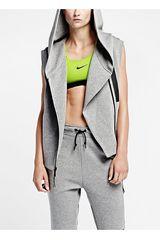 Nike Gris de Mujer modelo NK TECH FLEECE VEST Casual Chalecos