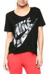 Nike Negro de Mujer modelo W NSW TOP GX FTW Deportivo Polos