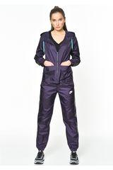 Nike Morado de Mujer modelo W NSW TRK SUIT WVN Buzos Deportivo