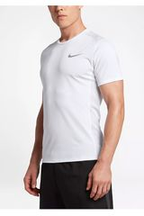 Nike Blanco de Hombre modelo M NK DRY MILER TOP SS Deportivo Polos