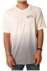 Polo de Hombre NikeM NK DRY TEE SB DB DIP DYE Blanco / Gris