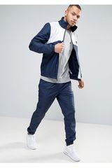 Nike Azul / Blanco de Hombre modelo M NSW TRK SUIT WVN HALFTIME Buzos Deportivo