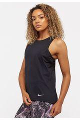 Bividi de Mujer Nike Negro W NK DRY MILER TANK CL