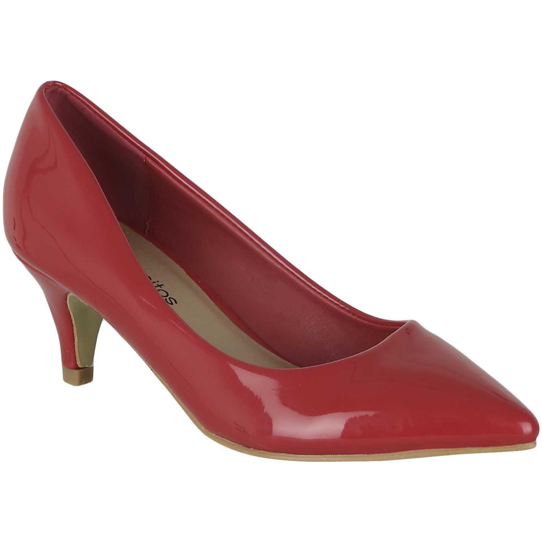 Calzado de Mujer Platanitos Rojo c 269