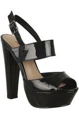 Sandalia Plataforma de Mujer Platanitos Negro SP EMILLIE1