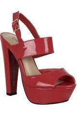 Platanitos Rojo de Mujer modelo SP EMILLIE1 Plataformas Tacos Sandalias Casual