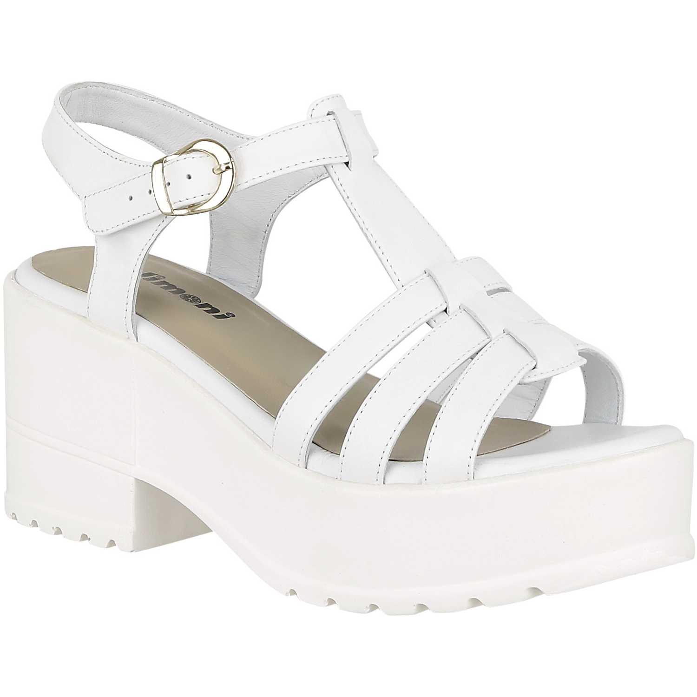 57e62302eec Sandalia Plataforma de Mujer Blanco sp bianca02
