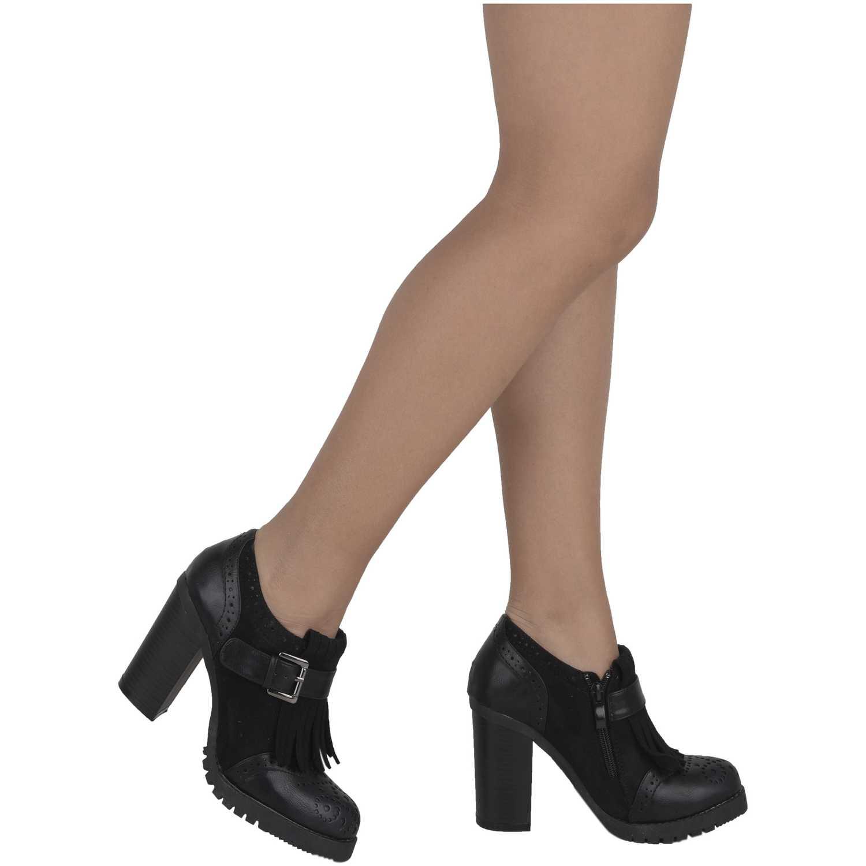 Calzado de Mujer Platanitos Negro cp-c-1