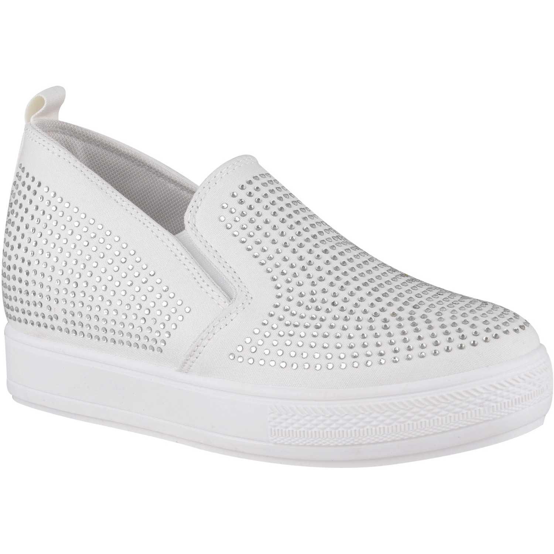 Zapatilla de Mujer Platanitos Blanco zw-9a001