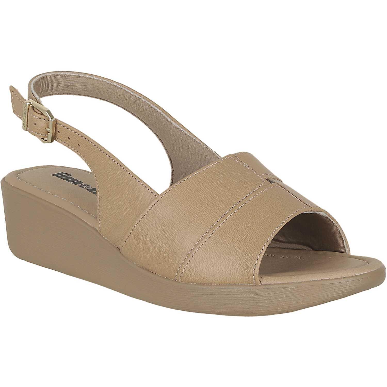 Sandalia de Mujer Limoni - Cuero Camel sct 5990