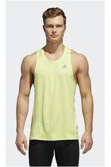 Adidas Amarillo de Hombre modelo RS SINGLET M Deportivo Polos