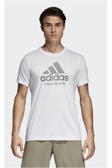 Adidas Blanco de Hombre modelo ADI TRAINING T Deportivo Polos