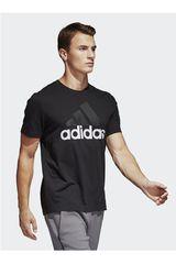adidas Negro / Blanco de Hombre modelo ESS LINEAR TEE Deportivo Polos