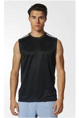 adidas Negro de Hombre modelo D2M SL 3S Deportivo Polos