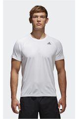 Adidas Blanco de Hombre modelo D2M TEE PL Deportivo Polos