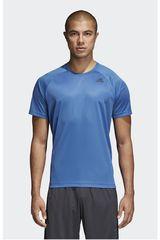 Adidas Acero de Hombre modelo D2M TEE PL Deportivo Polos
