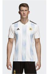 adidas Blanco / Celeste de Hombre modelo AFA H JSY Polos Camisetas Deportivo