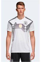 adidas Blanco / Negro de Hombre modelo DFB H JSY Deportivo Camisetas Polos