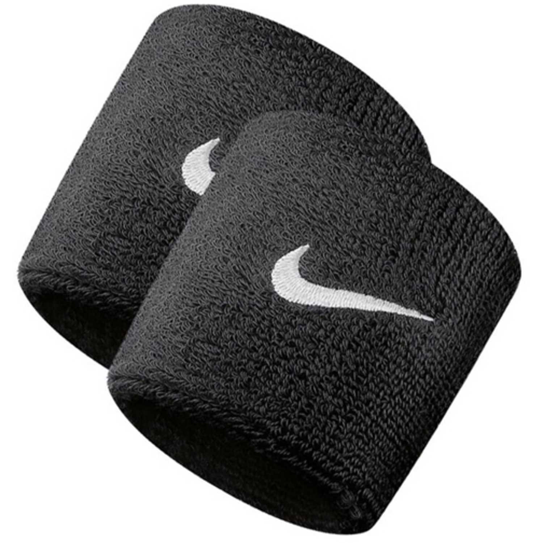 326b87009 Muñequera de Hombre Nike Negro nike swoosh wristbands   platanitos.com