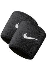 Muñequera de Hombre Nike Negro nike swoosh wristbands