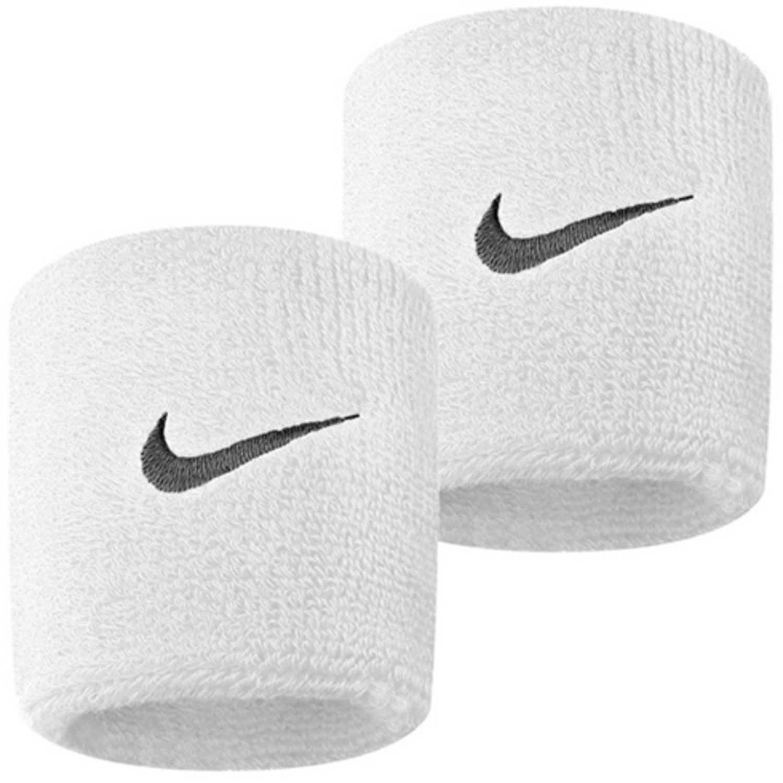 Muñequera de Hombre Nike Blanco nike swoosh wristbands