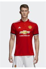 Camiseta de Hombre Adidas Rojo MUFC H JSY