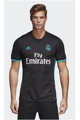 adidas Negro / Turquesa de Hombre modelo REAL A JSY Polos Camisetas Deportivo