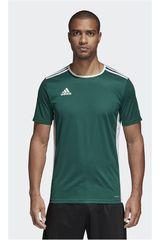 adidas Verde de Hombre modelo ENTRADA 18 JSY Camisetas Deportivo Polos
