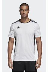 adidas Blanco / Negro de Hombre modelo ENTRADA 18 JSY Polos Camisetas Deportivo
