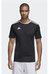 Camiseta de Hombre Adidas Negro / blanco ENTRADA 18 JSY